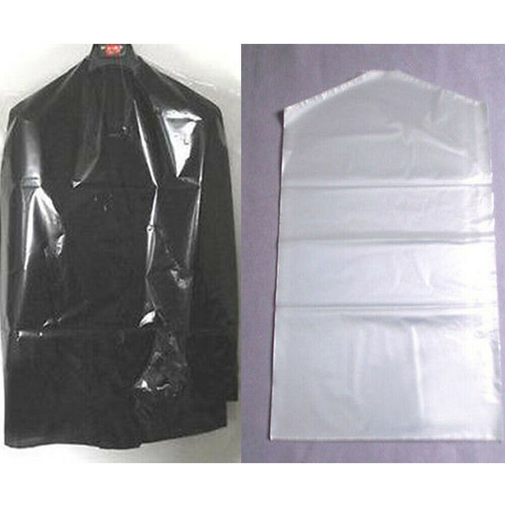 20pcs Plastic Clothes Dust cover Mens Womens Clothes Garment Suit Jacket Clear Storage Cover Protector Bag