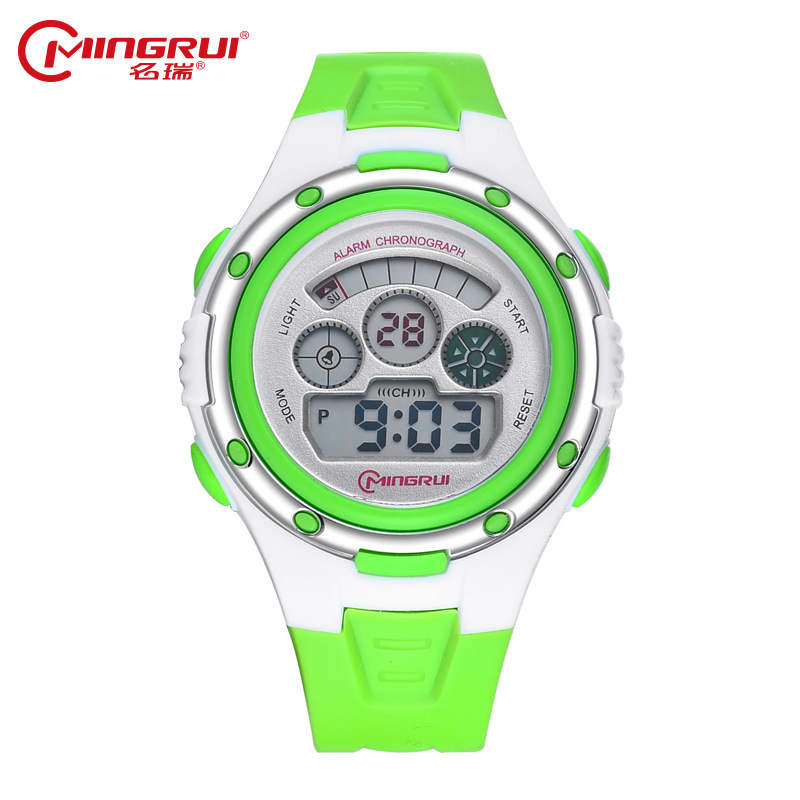 MINGRUI Children Fashion Luminous Digital Watch Waterproof Sport Watches Kids Alarm LED Watch Hour Clock Baby Gift Montre Enfant