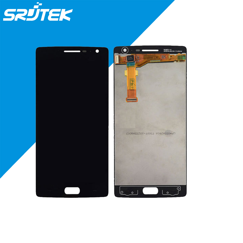 ФОТО Black For Oneplus 2 / Oneplus Two A2001 A2003 LCD DIsplay + Touch Screen Digitizer Assembly Free shipping