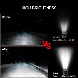Image 5 - Safego 7 zoll 120W offroad led licht bar 5 9 12 17 20 zoll 84W 240W 360W 384 led Arbeit Licht Auto 4WD Lkw 4x4 SUV ATV 12V