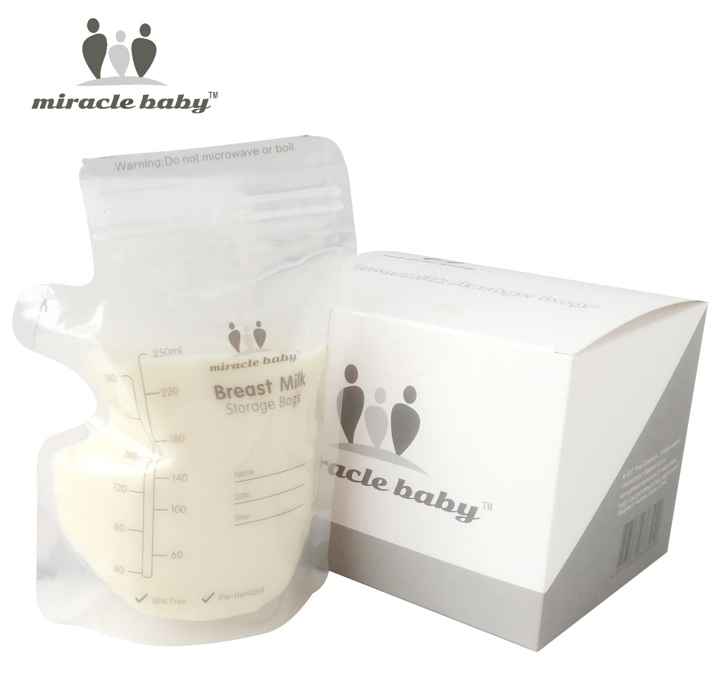 30/60/PCS Box Baby Food Storage Breast Milk Storage Bags To Store Milk Bag 250ml BPA Free Freezer Feeding Bags Almacenaje Leche
