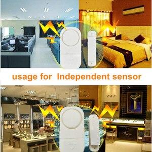 Image 2 - Home Sicherheit Alarm System Alone Magnetische Sensoren Unabhängige Wireless Home Tür Fenster Entry Alarmanlage Sicherheit Alarm