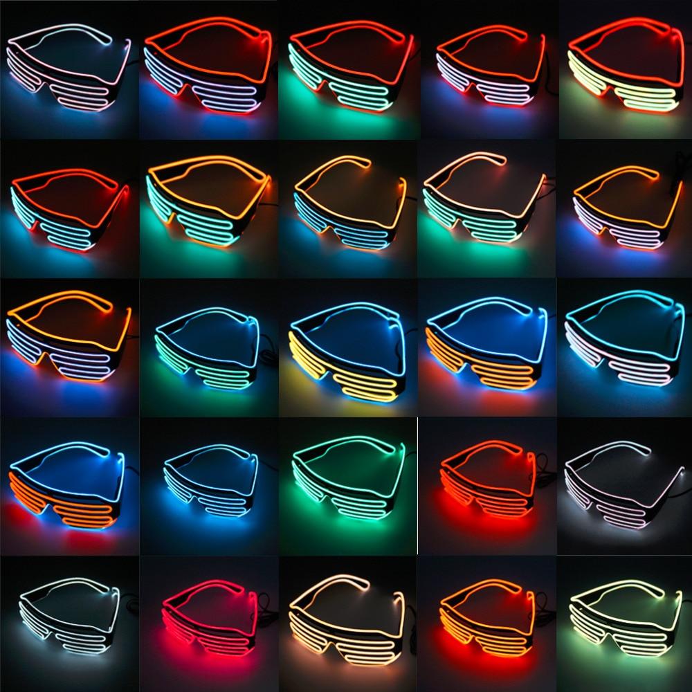Led Wall Light Flashing: 2017 Newest LED Glasses Light Up Shades Flashing Rave