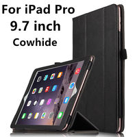 Case Cowhide For IPad Pro 9 7 Inch Genuine Protective Smart Cover Leather Tablet For IPad