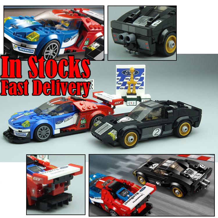 Lepin 28004 395Pcs Racer Racing Car Speed Champions Set Building Blocks Bricks Enlighten Toys for Children Christmas Gift 75881 on stock new super thomas small train electric track car boy puzzle large car racing for children s christmas gift kids toys