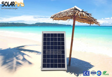 Solarparts 5x 6W polycrystalline solar panel module system 12V DIY kits for toys light led science toy experiment outdoor use .