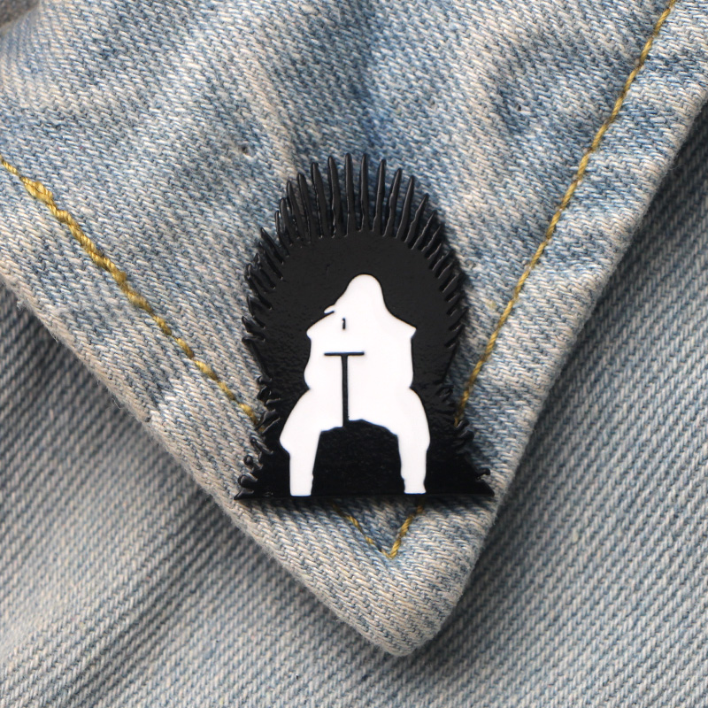 DMLSKY 20pcs/lot Game of Thrones Art Enamel Pins and Brooches Lapel Pin Backpack Bags Badge Clothing Decoration Gifts M3348DMLSKY 20pcs/lot Game of Thrones Art Enamel Pins and Brooches Lapel Pin Backpack Bags Badge Clothing Decoration Gifts M3348