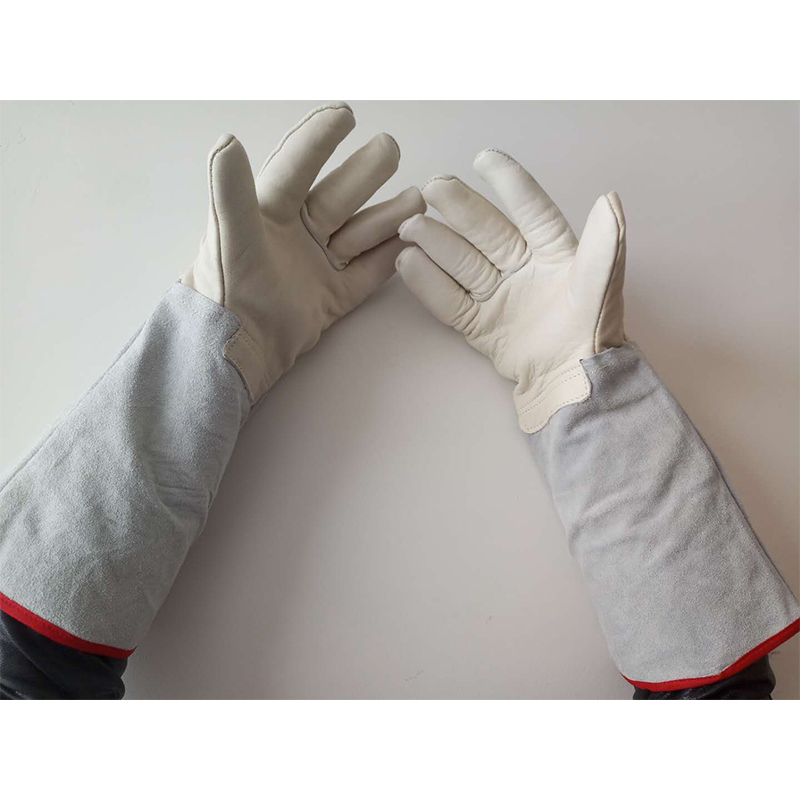Low Temperature Liquid Nitrogen Leather Gloves Anti-cold Working GlovesThick Warm Anti-freezing Dry ice Safety Protection GloveLow Temperature Liquid Nitrogen Leather Gloves Anti-cold Working GlovesThick Warm Anti-freezing Dry ice Safety Protection Glove
