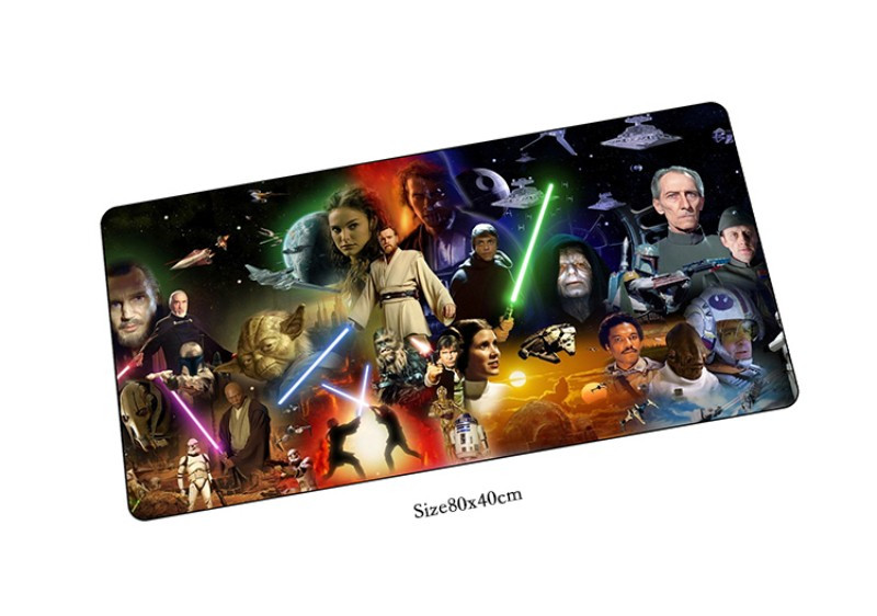 star wars mouse pads big pad to mouse notbook computer mousepad 800x400x3mm gaming padmouse gamer to keyboard mouse mat
