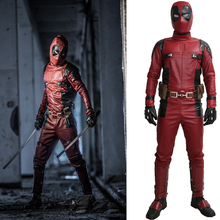 Dead Pool Costume Outfit Жұмсақ Косплей Deluxe Fancy Slim Clothing киім репликалардың