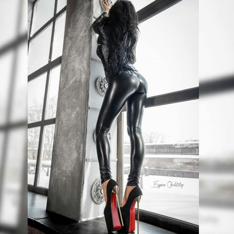 NORMOV-Mulheres-Moda-Leggings-Sexy-Cintura-Alta-Preta-El-stica-Empurrar-Para-Cima-cal-as-de