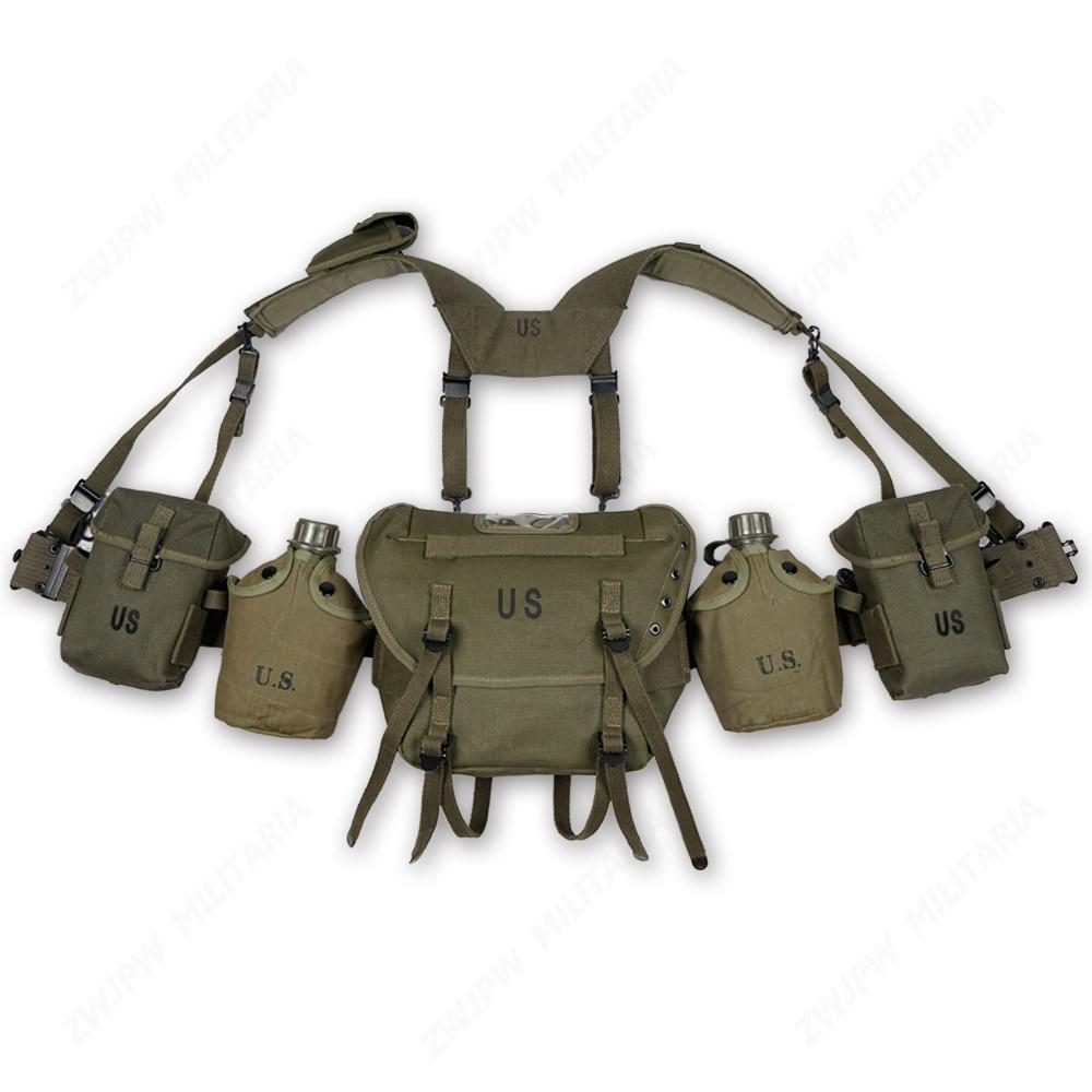 Vietnam War U.S. M1956 M1961 M14 Fieldgear Packages Equipment