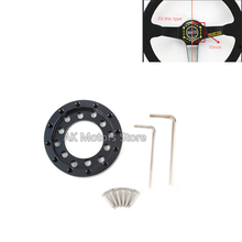 Steering Wheel Adapter Plate for Logitech G25 G27 70mm steering wheel Racing car game Modification