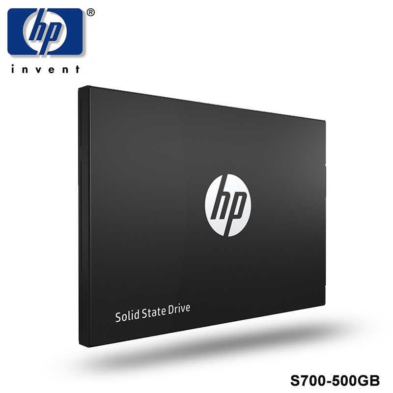 """HP SSD S700 2.5 """"500 GB SATA III 3D NAND Internal Solid State Drive Hard Drive HDD Disk untuk komputer Laptop SSD Mini SATA3 500 GB"""