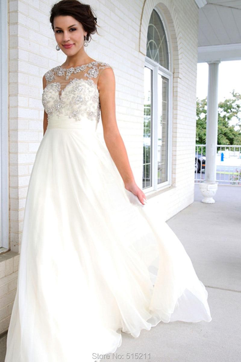 6825a4de7cb7e Sexy vestidos de formatura Open Back Beading Chiffon Prom Dress Long ...
