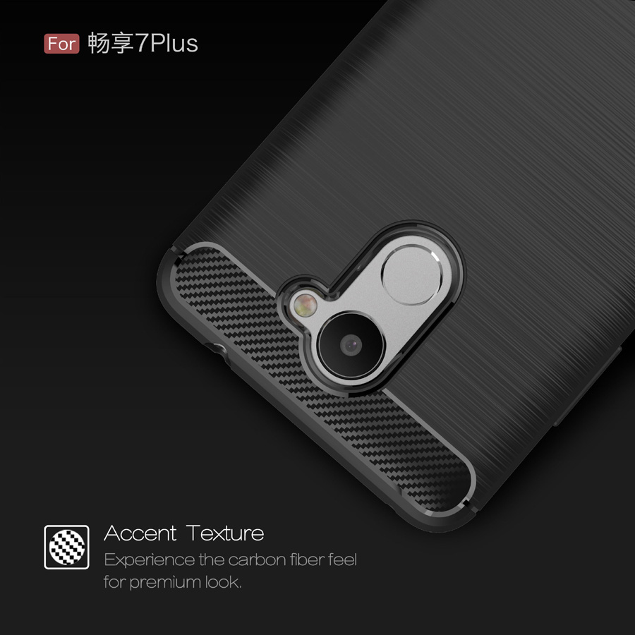 Para Huawei Enjoy 7 Plus / Y7 prime case Super Frosted Shield Tpu - Accesorios y repuestos para celulares - foto 2