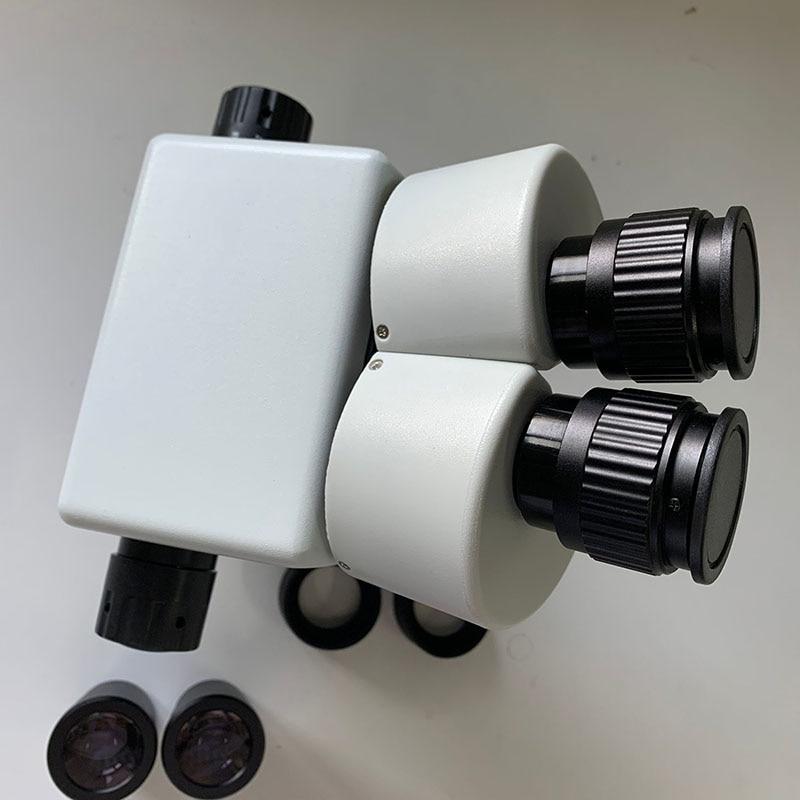 ブランドプロ 7X 45X 双眼ステレオ顕微鏡ヘッド双眼ヘッド顕微鏡接眼レンズ WF10X/20 ミリメートルステレオ Microscopio  グループ上の ツール からの 顕微鏡 の中 2