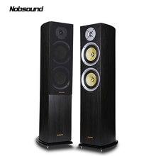 Nobsound VF701 трехполосная деревянная 150 Вт Напольная акустическая система s 2,0 HiFi Колонка звук 6,5 дюймов домашняя профессиональная акустическая система s