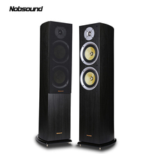 Nobsound VF701 Wood 150W Floor-Standing Speakers 2.0 HiFi Column Sound 6.5 inch speaker Home Professional speakers цены