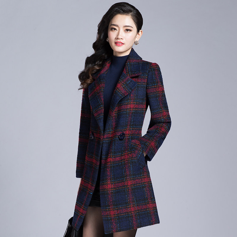 Compare Prices on Green Plaid Coat- Online Shopping/Buy Low Price ...