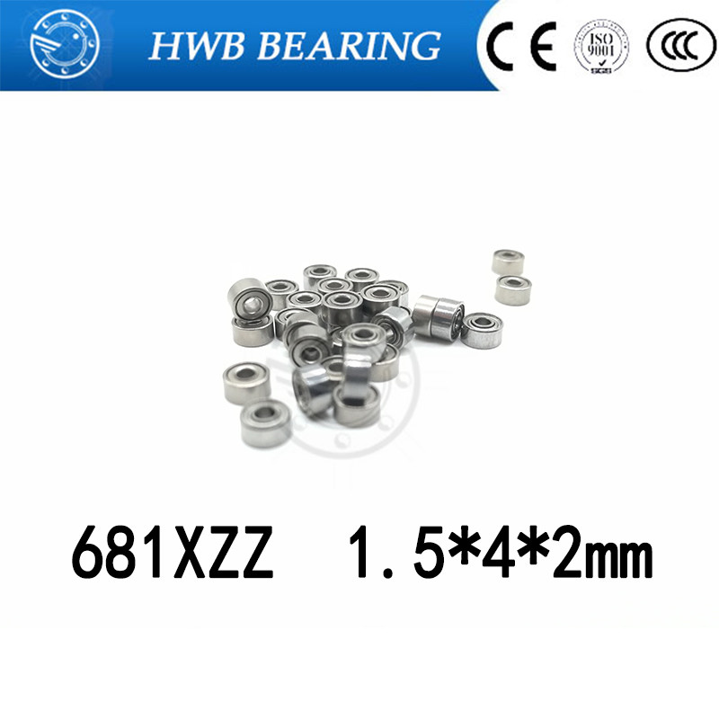 681XZZ 681X 681 L415ZZ deep groove ball bearing 1.5x4x2mm miniature bearing 1.5*4*2mm full complement 1.5*4*2 mm платье befree befree be031ewlbb90