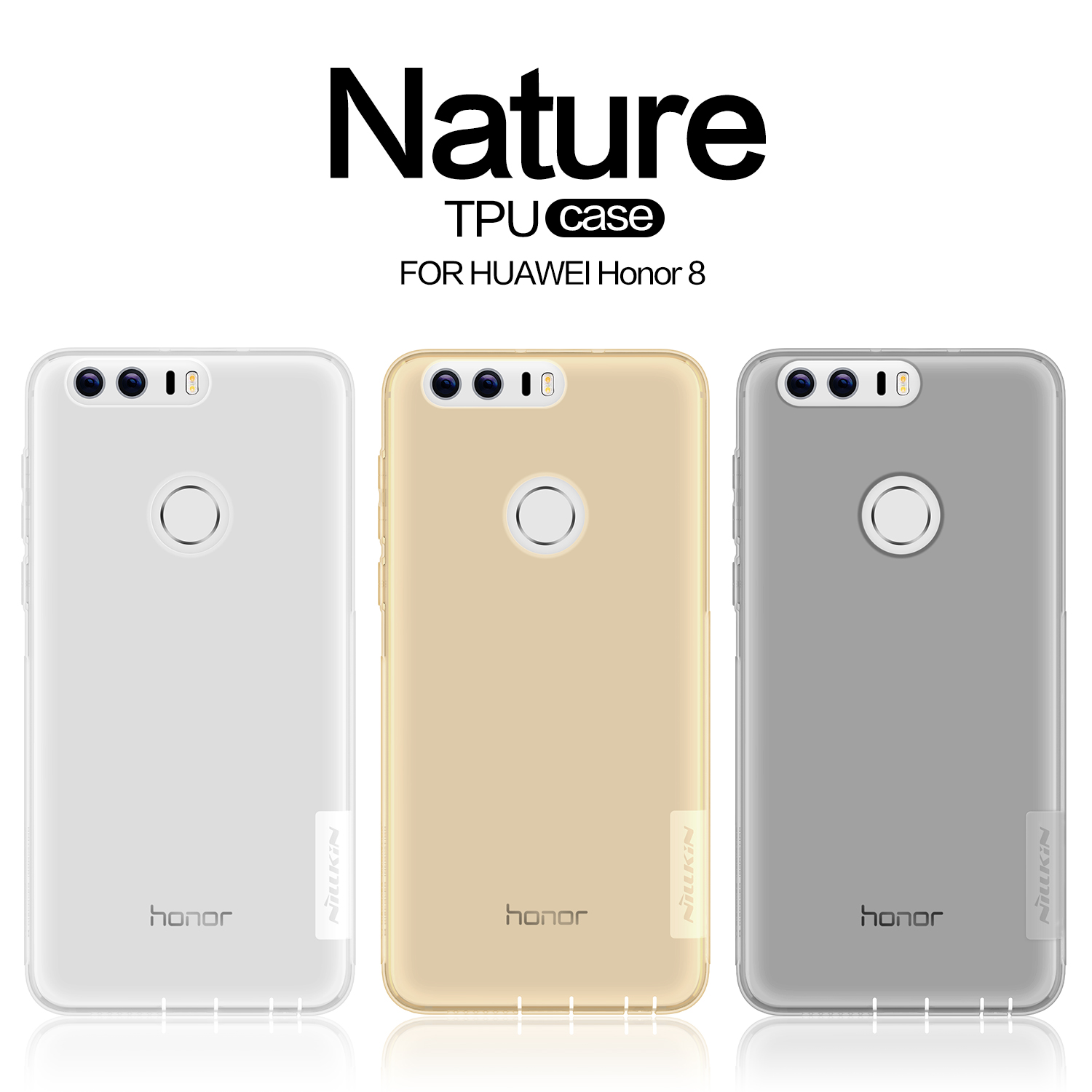 Original Nillkin For Huawei Honor 8 52 Case Ultra Thin Slim Tpu Silikon Soft Samsung Galaxy S8 Plus Nature Ultrathin Hight Quality Back Cover