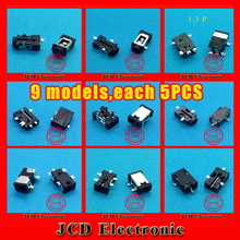 9 modelsDC Power Jack Port Socket Connector for Archos Arnova Newsmy Yuandao Daono Ramos Flytouch Tablet PC