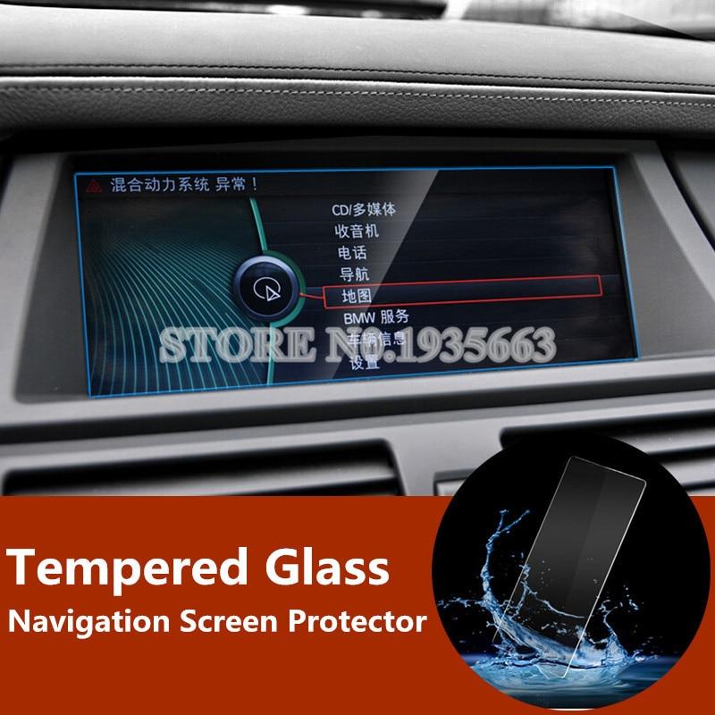Para BMW X5 E70 2008-2013X6 E71 2009-2014 Premium Vidro Temperado Protetor de Tela de Navegação GPS 1 pcs