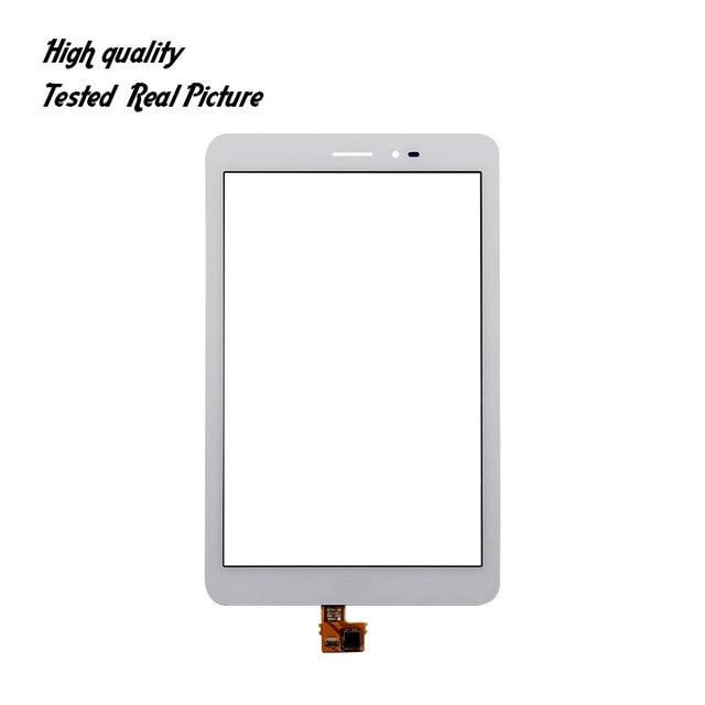 """Trasporto Libero Per 8.0 """"Huawei Mediapad T1 3G S8-701u/Honor Pad T1 S8-701 di Tocco Digitale Dello Schermo di Vetro + strumenti"""
