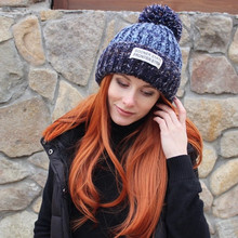 Warm Knitted Fur Hat