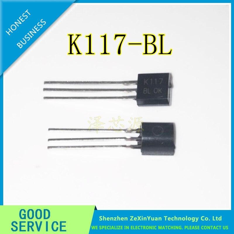 100PCS/LOT K117 2SK117 2SK117-BL TO-92 New Original