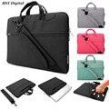 "11 ""12"" 13 ""15"" bolsa de ombro Laptop messenger bag para macbook air pro retina 11.6 13.3 15.4 polegada Notebook case-resistente à água Nylon"