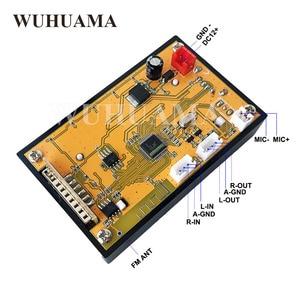 Image 4 - DC12V affichage LED bleu MP3 WAV WMA lecteur Module Bluetooth FM SD USB décodeur Audio carte avec enregistrement