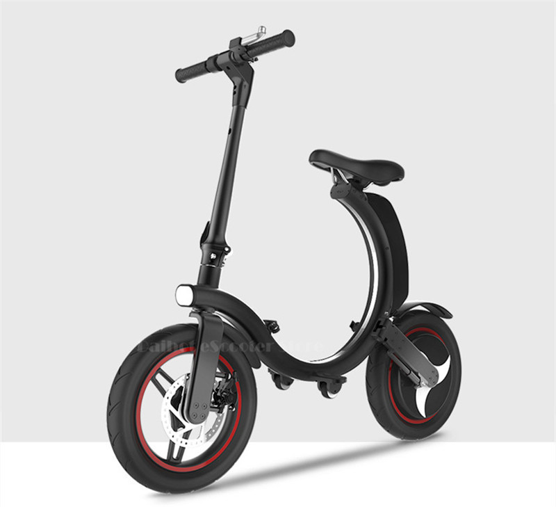 Daibot Mini Electric Bicycle Two Wheel Electric Bicycle 14 Inch 350W 36V 32KMH Foldable Portable Adults Electric Bicycle Bike   (26)