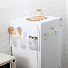 Waterproof Washing Machine Coat Dust proof Refrigerator Cover European Pattern Sun Dust Protection Case Household Accessories