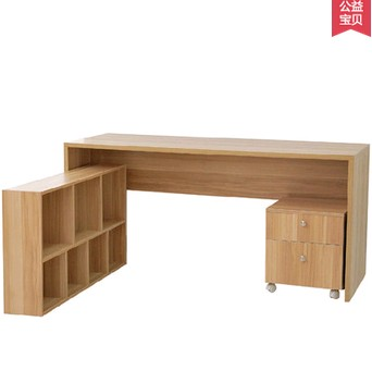 US $206.5 |Simple corner computer desk bookcase combination desktop office  writing table-in Computer Desks from Furniture on Aliexpress.com | Alibaba  ...