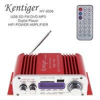 HY3006 Sound Mode 12V Mini Digital HIFI Car Power Amplifier Audio Music Player Support USB SD