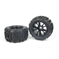 2PCS or 4PCS DHK 8382 704 8382/8384 East Hongkai accessories general 1/8 monster truck rubber tires viscose free shipping