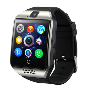Image 5 - Smart Watch Q18 Passometer Smart Clock with Touch Screen Camera TF card Bluetooth Smartwatch for Android IOS Phone Men Watch