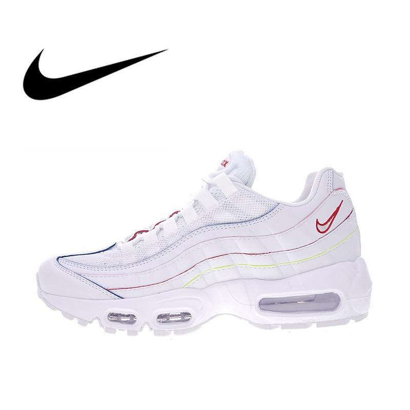 Chaussures de course respirantes Nike Air Max en velours côtelé 95 pour femmes chaussures de Sport en plein Air chaussures de Designer athlétique AQ4138