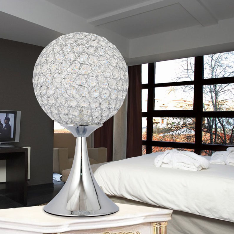 Modern Simple Restaurant Living Room Table Lamp Fashion Crystal Table Lamp Warm Bedroom Bedside Lamp WholesaleModern Simple Restaurant Living Room Table Lamp Fashion Crystal Table Lamp Warm Bedroom Bedside Lamp Wholesale
