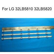 Brand New LED Backlight Strip For LG 32LB5820 32LB5810 TV Repair Strips Bars A B TYPE 6 Lamps Original Quality