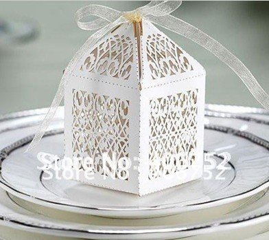 Laser Cut Merry Christmas Christmas Decoration Luxury Wedding
