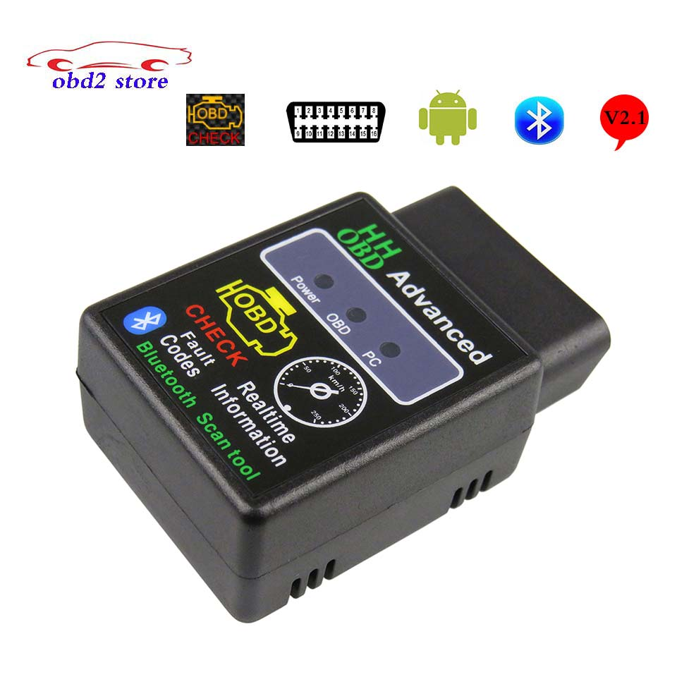 Auto Scan Elm327 Bluetooth V21 Obd2 Car Diagnostic Interface Best 12 Volt Battery Charger Circuit Using Lm311 Electronic Scanner For Android Elm 327 Obd 2 Code Reader Tool