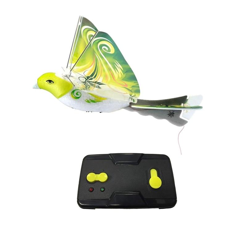 Toys RC Swallow Bird 2.4G Remote Control Airplane 2.4 GHz Remote Control E-Bird Birds Electronic Mini Drone Toys RC Bionic Bird