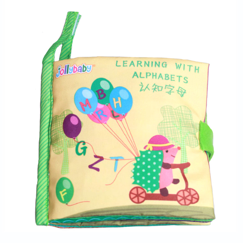 Cognitive Learning Toys : Baby toys alphabets learning book cognitive mobile cloth