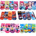 Fashion Creative Cartoon Socks Kids Boy Girl Baby Short Cotton Socks princess KT Animal Socks Christmas Gift sock Size S/M/L