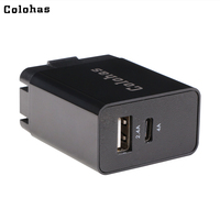 Colohas 25 W Typu C Ściany Ładowarka USB Power Adapter US Ładowarka USB-C dla Apple MacBook iPhone X 8 HTC 10 Galaxy S7 C9 Pro Nexus LG