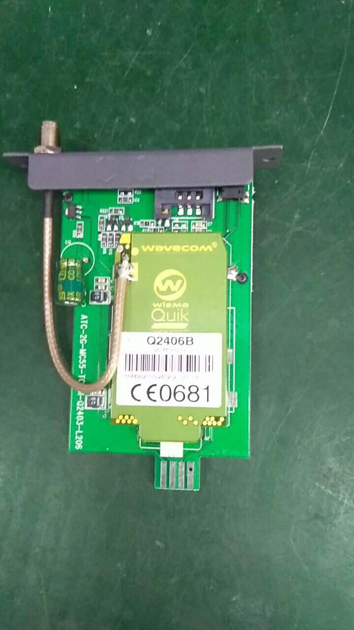 Wavecom Q2406B PCB Board, GSM Q2406B Slot For 8/16/32/64 Port Modem Pool