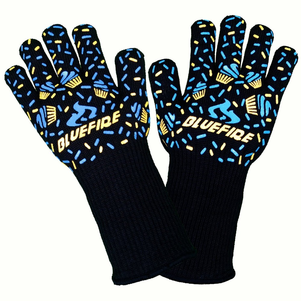 все цены на Heat Resistant Cooking Gloves protective heat resistant mechanics glovesfactory direct supply онлайн